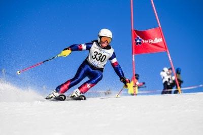 Division 4 Alpine GS Girls – Race Shots