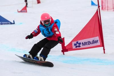 Division 5 Girls Snowboard GS