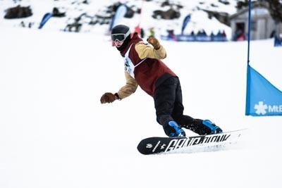Division 1 Boys Snowboard GS – Race Shots