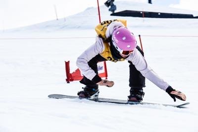 Division 1 Girls Snowboard Cross Qualifier