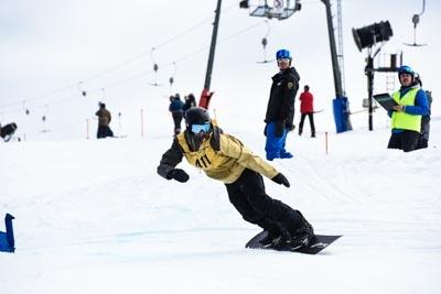 Division 1 Boys Snowboard Cross Final