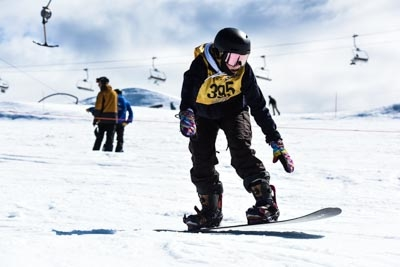 Division 1 Girls Snowboard Cross Final