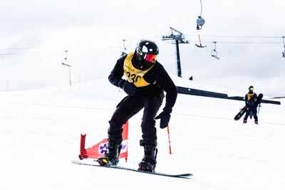 Division 2 Boys Snowboard Cross Final