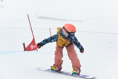 Division 5 Girls Snowboard Cross