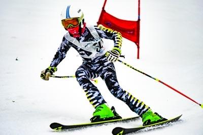 Division 3 Boys Alpine GS – Race shots