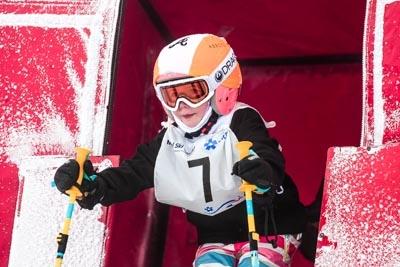 Division 6 Girls Alpine GS – Gate Shots