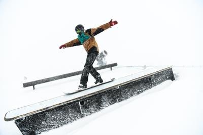 Division 2 Boys Snowboard Slopestyle