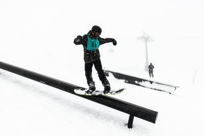Division 1 Boys Snowboard Slopestyle