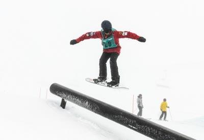 Division 3 Boys Snowboard Slopestyle