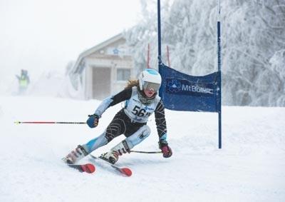 Division 2 Girls Alpine GS – Race Shots