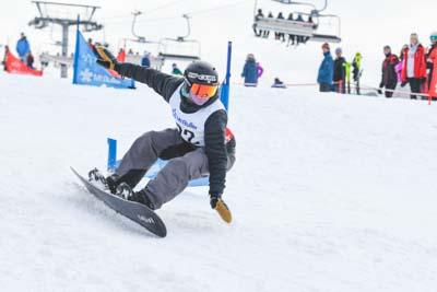 King of Mountain Snowboard – Both runs