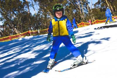 Bunyips Ski school Morning