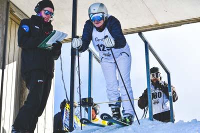 Ski Club Victoria Start Gate