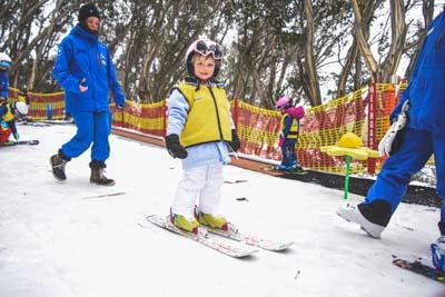 Ski School Bunyips Morning
