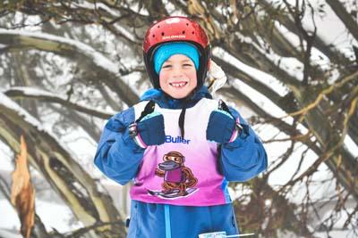 Ski School Race Portraits
