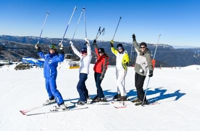Ski School Lesson
