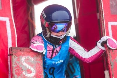 Division 4 & 5 Girls Snowboard GS Gate